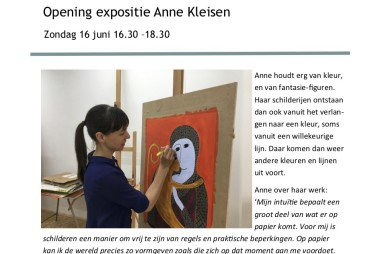 Expositie Anne Kleisen